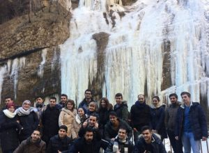 FOREIGN STUDENTS OF KBSU VISITED THE FAIRY CHEGEM GORGE