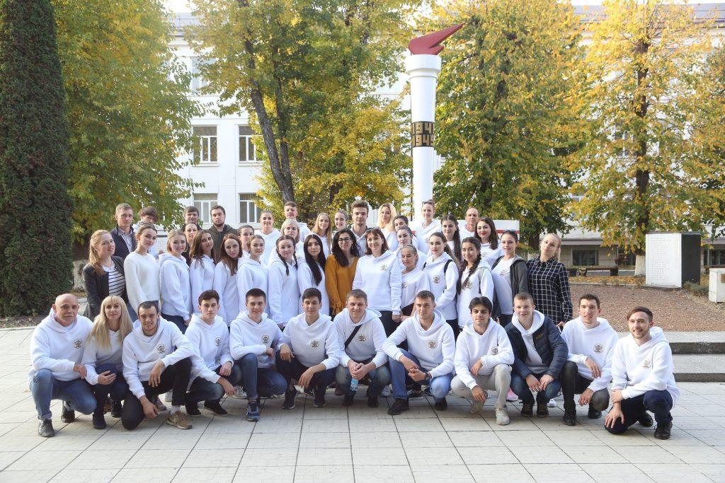 Stavropol Students Performed Victory Songs In KBSU