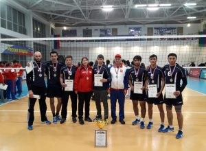 Team Of KBSU Won The Award Of The Student Sports Games Festival