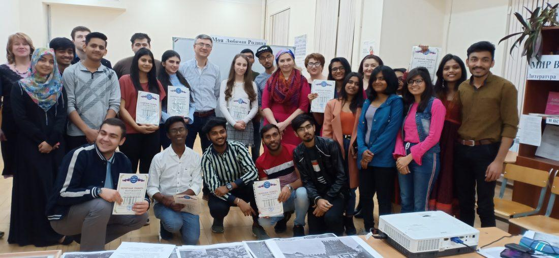 Russian-Indian round table at KBSU