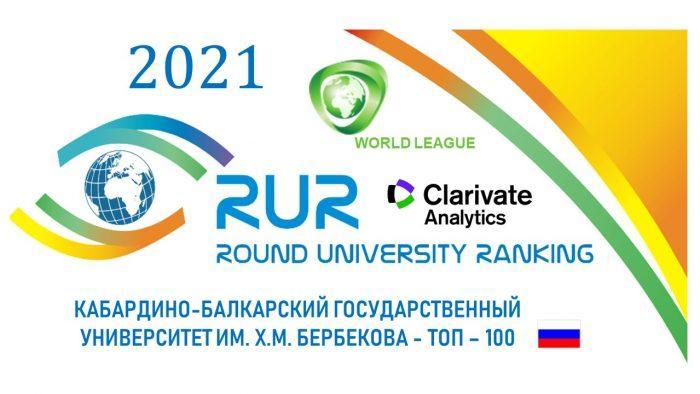 KBSU entered the international ranking of universities RUR-2021